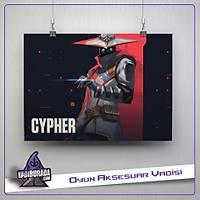 Cypher M1: Valorant Poster