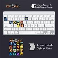 Jarvan IV: Klavye Sticker Set