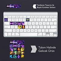 Malzahar: Klavye Sticker Set