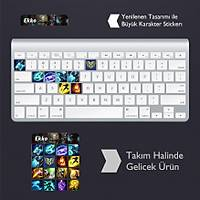 Ekko: Klavye Sticker Set