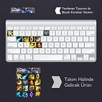 Ezreal: Klavye Sticker Set