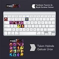 Gragas: Klavye Sticker Set