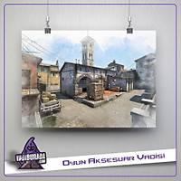 CS:GO : Inferno Map Poster