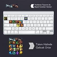 Udyr: Klavye Sticker Set