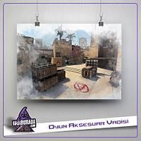 CS:GO : Mirage Map Poster