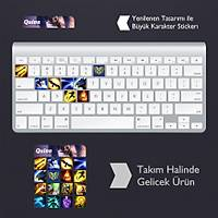 Quinn: Klavye Sticker Set