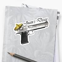 CS:GO Desert Eagle Sticker (2 adet)