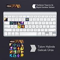 Viktor: Klavye Sticker Set