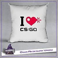 CS:GO : i Love Csgo Yastýk