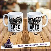 Apex Legends Kahramanlar Logolu Kupa