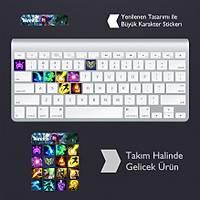Neeko: Klavye Sticker Set