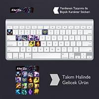 Kha'Zix: Klavye Sticker Set