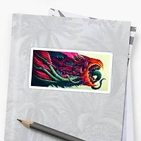 CS:GO Hyper Beast Sticker (2 adet)