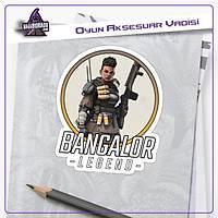 Apex Legends Bangalore Logolu Sticker (2 adet)