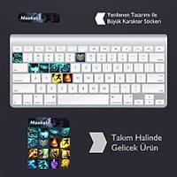 Maokai: Klavye Sticker Set