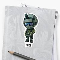 R6 : Fuze Sticker (2 adet)