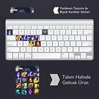 Sylas: Klavye Sticker Set