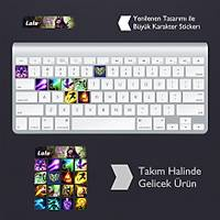 Lulu: Klavye Sticker Set