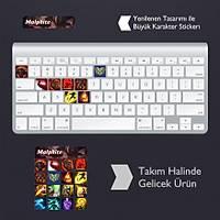 Malphite: Klavye Sticker Set