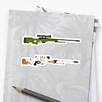 CS:GO AWP Sticker (2 adet)