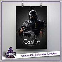 Rainbow Six Siege : Castle Poster