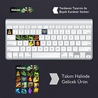 Nidalee: Klavye Sticker Set