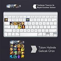 Galio: Klavye Sticker Set