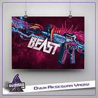 M4A1-Hyper Beast: Poster