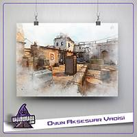 CS:GO : Dust 2 Map Poster