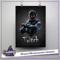 Rainbow Six Siege : Twitch Poster