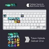 Hecarim: Klavye Sticker Set
