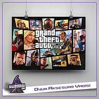 GTA 5: M18: Poster