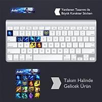 Ashe: Klavye Sticker Set
