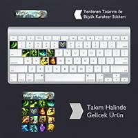 Master Yi: Klavye Sticker Set
