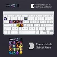 Varus: Klavye Sticker Set