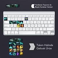 Pyke: Klavye Sticker Set