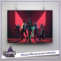 Mix H Team : Valorant Poster