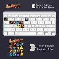 Rumble: Klavye Sticker Set