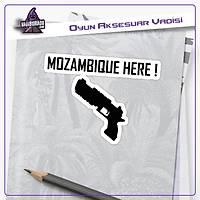 Apex Legends Tabanca Logolu Sticker (2 adet)