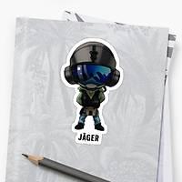 R6 : Jager Sticker (2 adet)
