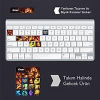 Gnar: Klavye Sticker Set