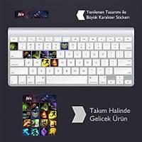 Jax: Klavye Sticker Set