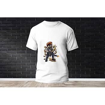 Brimstone Baskýlý Model 4  T-Shirt