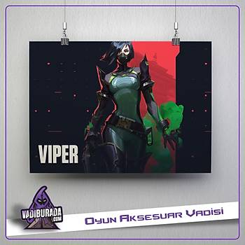 Viper M1: Valorant Poster