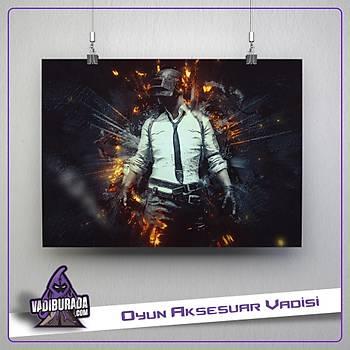 PUBG : Fire Man Poster