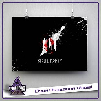 CSGO : Knife Party Poster
