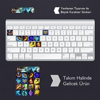 Zilean: Klavye Sticker Set
