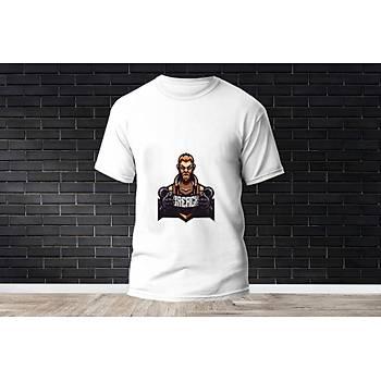 Breach Baskýlý Model 3  T-Shirt