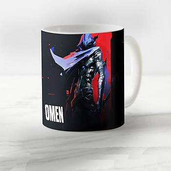 Valorant Model  Omen3 Desenli Kupa Bardak