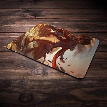 League Of Legends Taliyah Þampiyon Baskýlý Mousepad (BÜYÜK GAMEPAD)